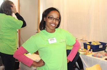 Volunteer Coordinator at the Family Fun Day